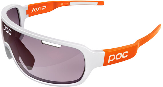 POC DO Blade AVIP Glasses hydrogen white/zink orange